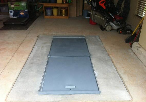 under-garage-storm-shelter-elite-series-door-closed