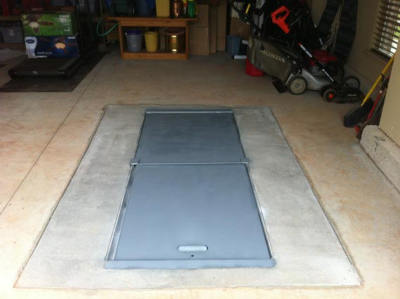 1/4u2033 Plate Steel Walls And Door