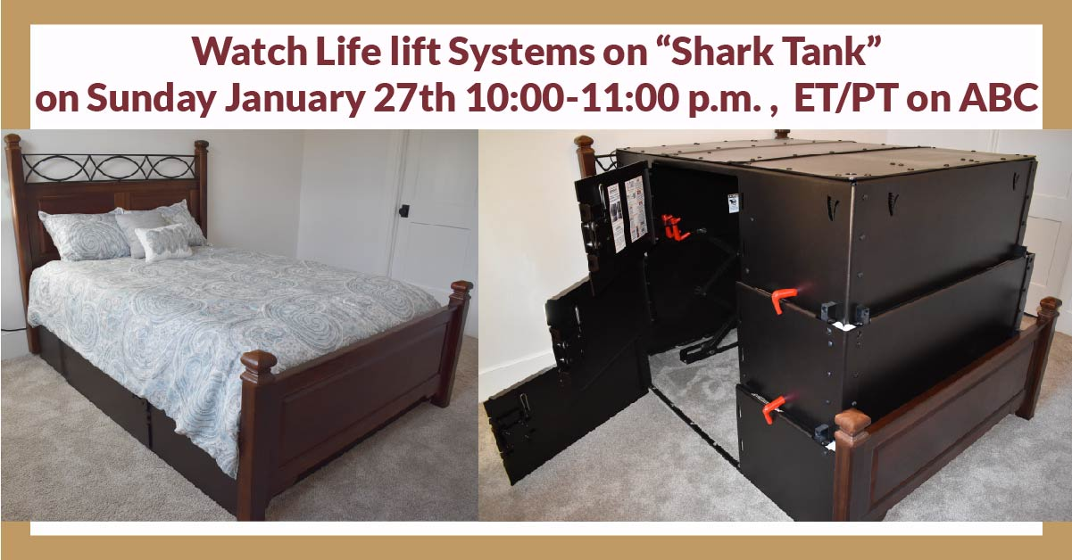 Kansas Storm Shelter Bed - Shark Tank