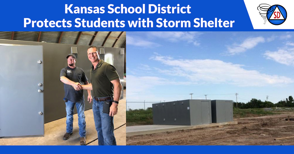 Storm Shelters for Kansas Students