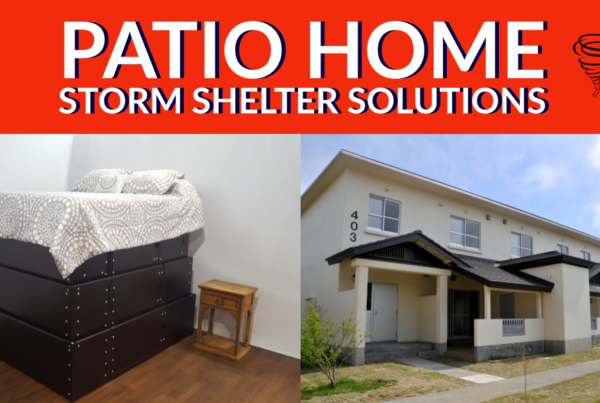 Patio Home Storm Shelter Solution