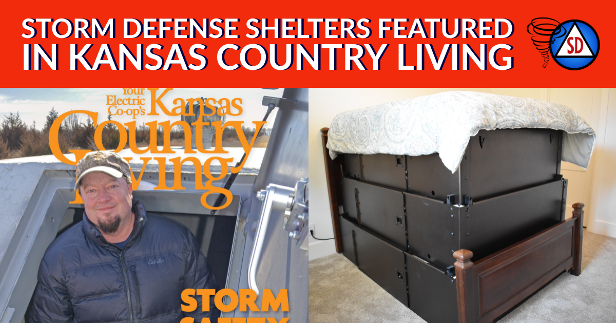 Storm Defense Shelters Featured in Kansas Country Living