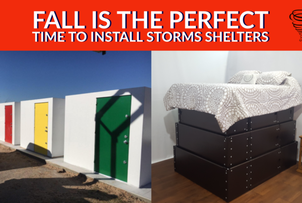 Fall is the Perfect Time to Install Storms Shelters