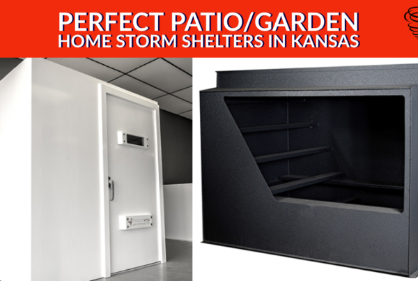 Perfect Patio/Garden Home Storm Shelters in Kansas