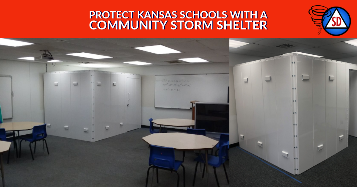 Protect Kansas Schools with a Community Storm Shelter