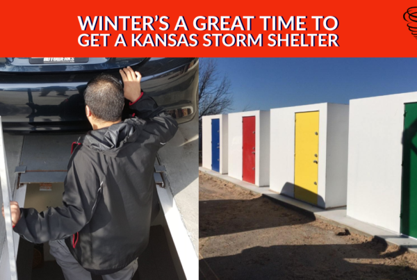 Winter's a Great Time to Get a Kansas Storm Shelter