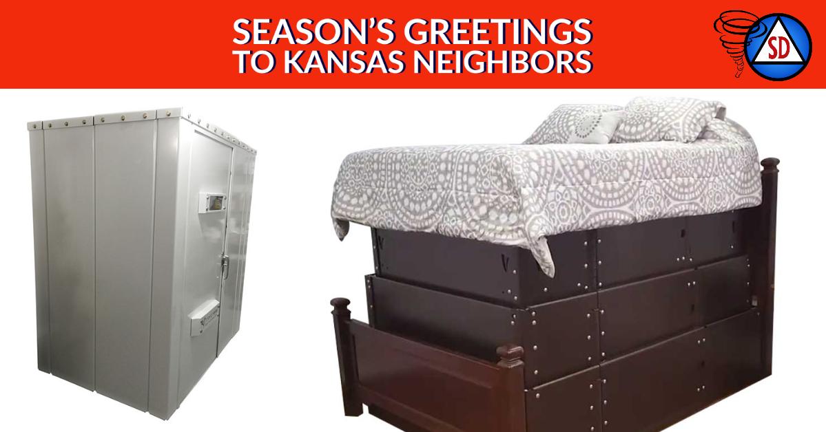 Season's Greetings to Kansas Neighbors