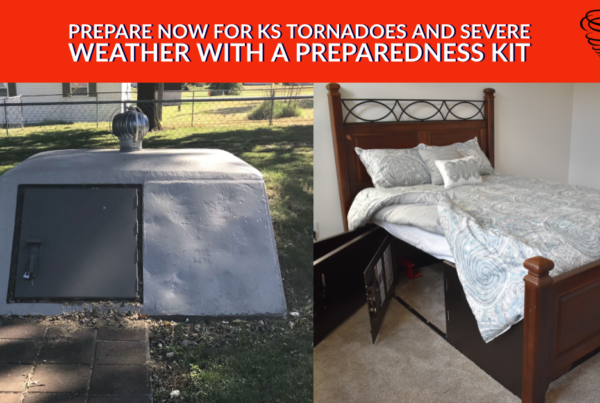 Prepare Now for KS Tornadoes and Severe Weather with a Preparedness Kit