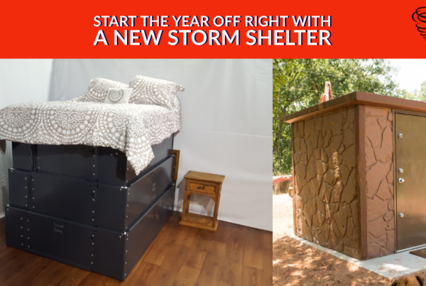 Start the Year Off Right with a New Storm Shelter